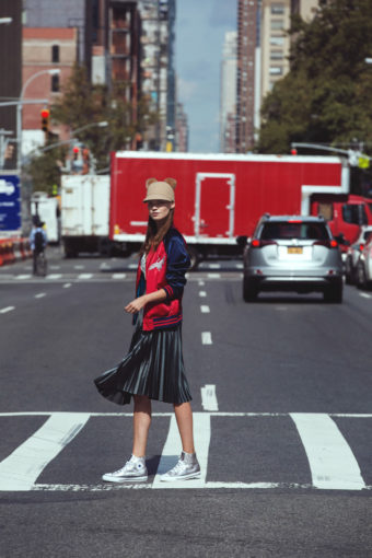 צילום אופנה של הפקה שצולמה בניו יורק