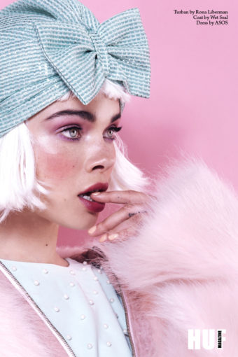 צילום אופנה בציבעי פסטל עבור המותג רונה ליברמן