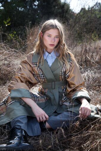 צילום אופנה בלוקיישן בטבע עם הדוגמנית דיאנה מיורי