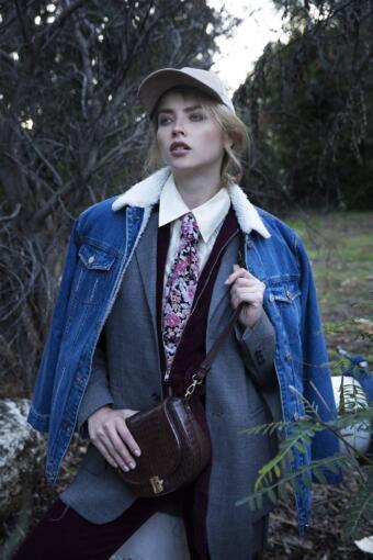 צילום אופנה חורפי עבור מגזין אופנה