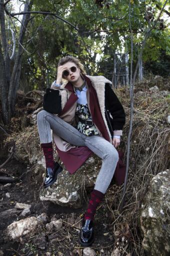 צילום אופנה עם המחוך של מעצב האופנה קובי גולן