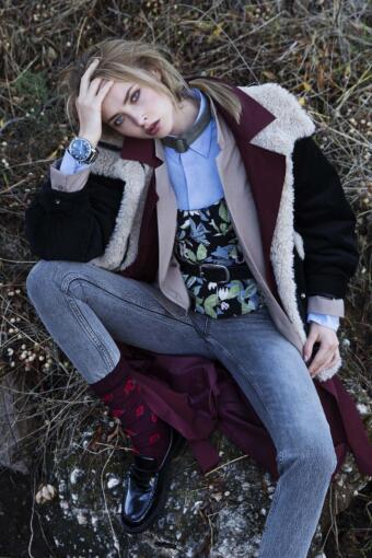 צילום הפקת אופנה בסגנון שכבות עם הסטייליסטית דנה קובלסקי